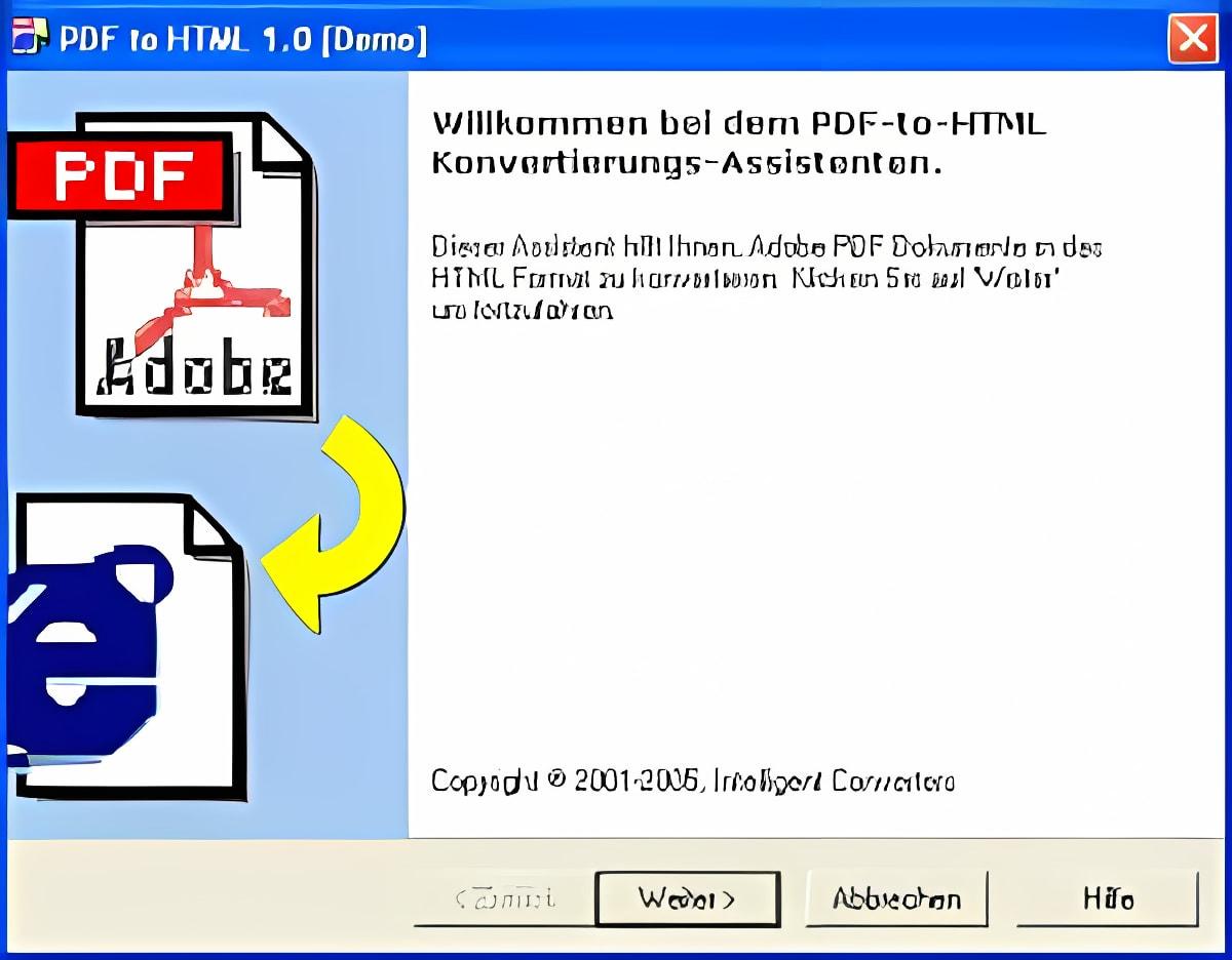 PDF to HTML