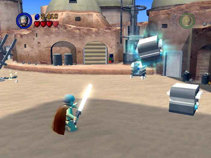 LEGO Star Wars - The Video Game (PS2) Review! - YouTube