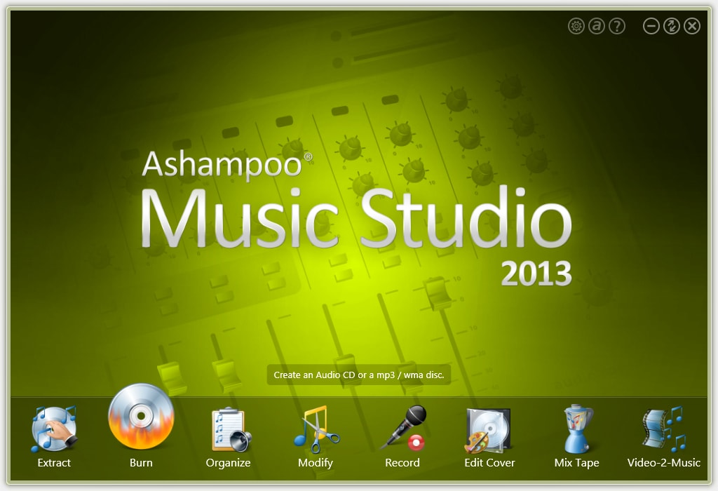 Ashampoo Music Studio 2013