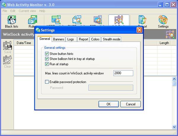 Web Activity Monitor