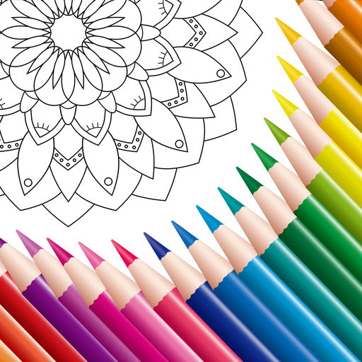 Coloring Book: Mandala, Pixel 4.1