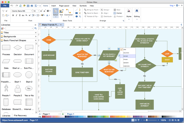 Edraw Flowchart Download
