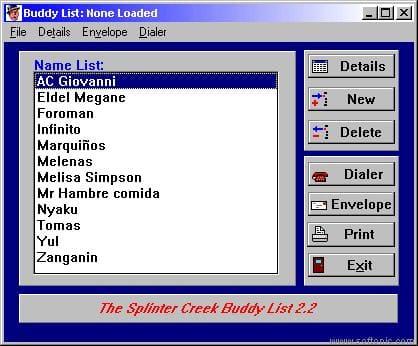 Buddy List