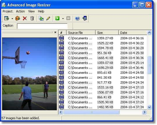 Advanced Image Resizer