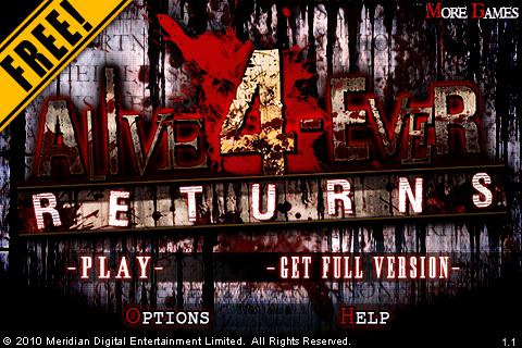Alive 4-ever RETURNS EX