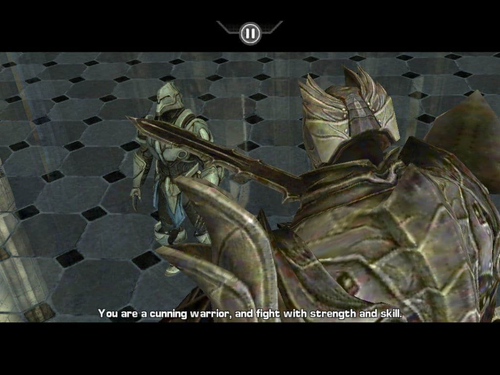 how to play infinity blade 1