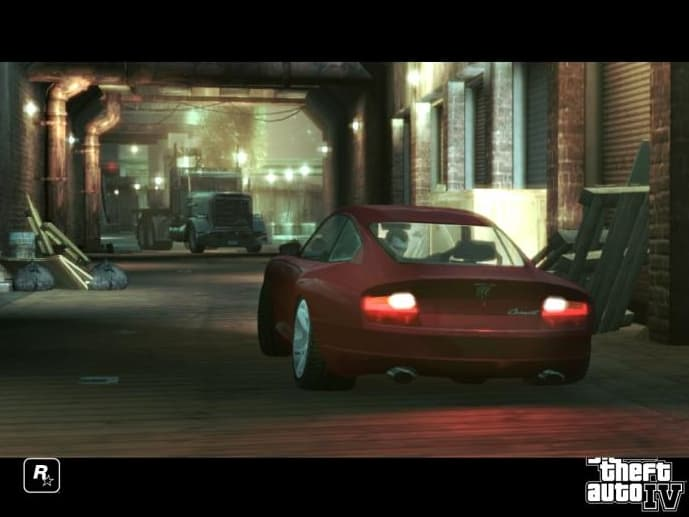 Grand Theft Auto IV Screensaver (GTA)