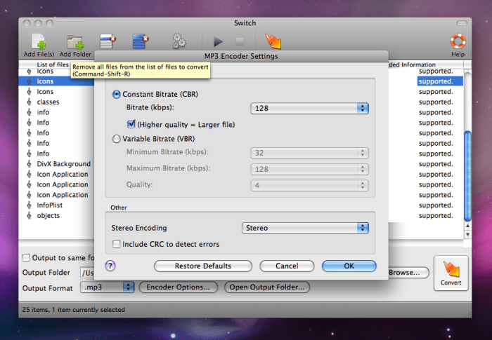 Switch Free Audio And Mp Converter For Mac