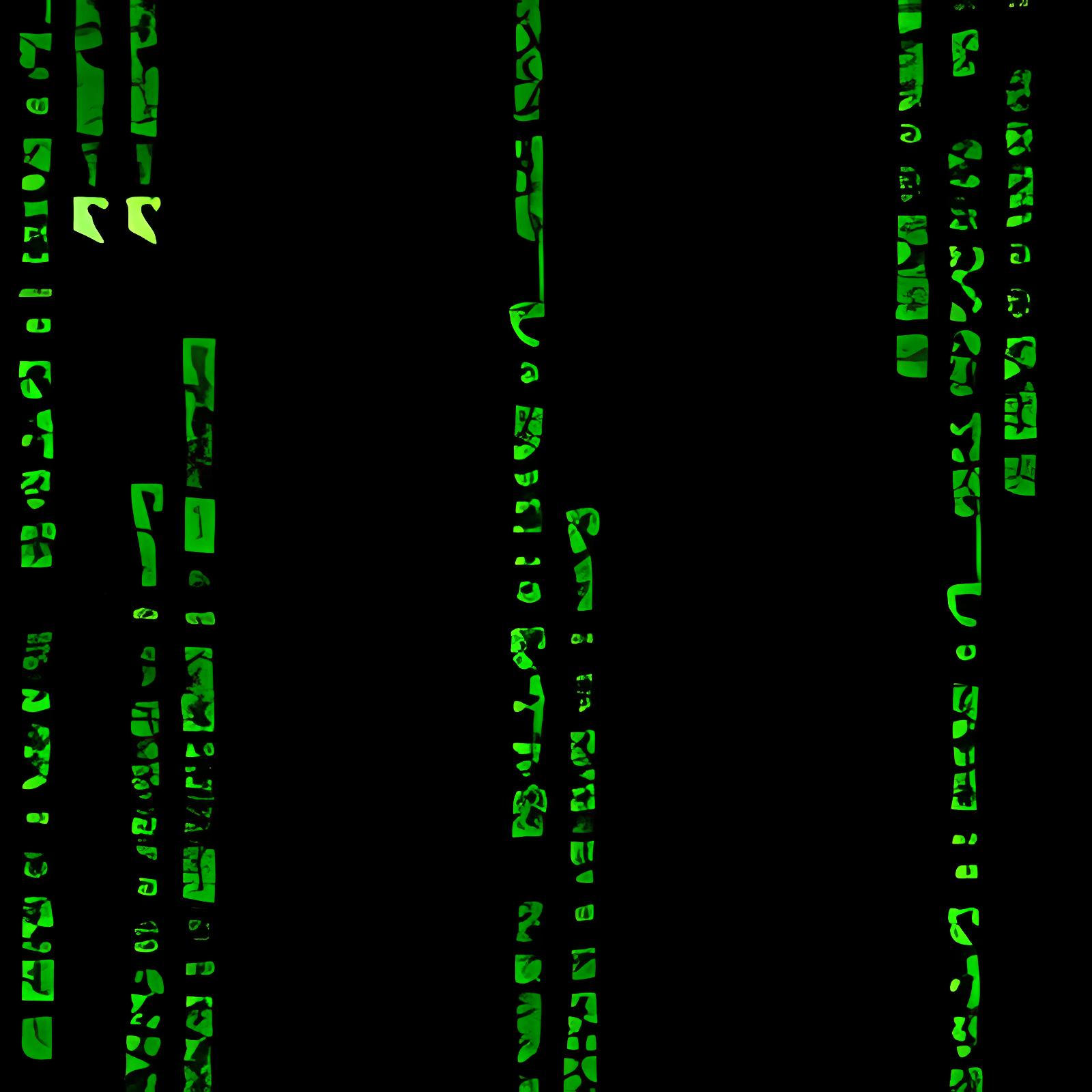 Ecran de veille Matrix