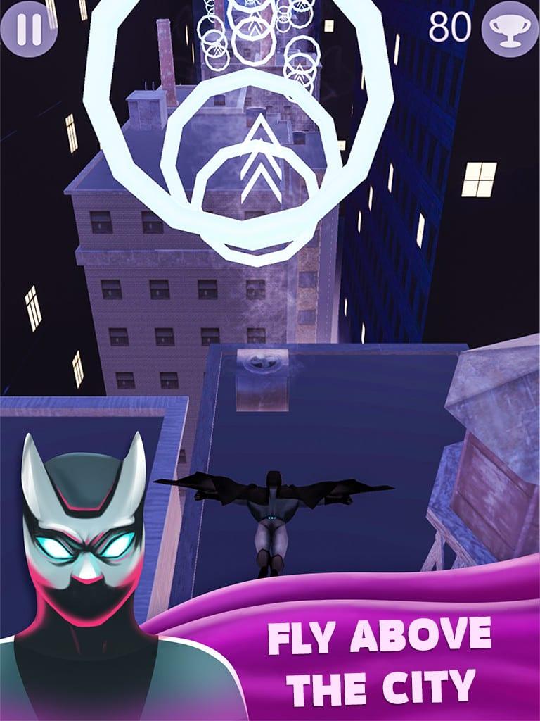Superhero Bat 3D Deluxe