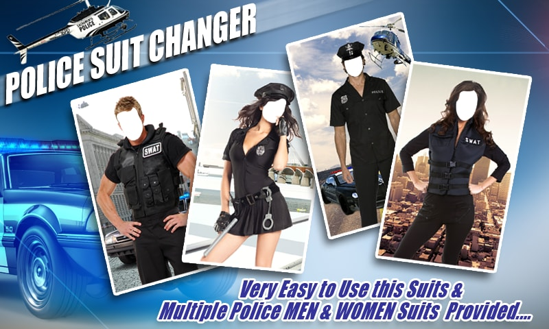 Police Suit Changer