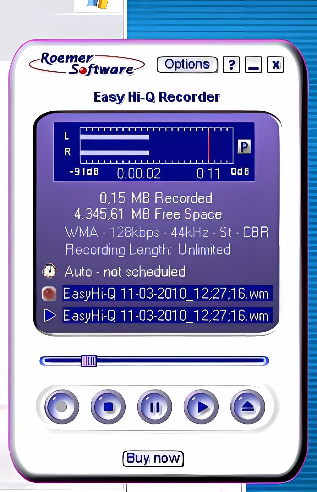 Easy Hi-Q Recorder