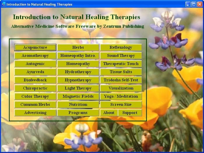 Natural Healing Introduction