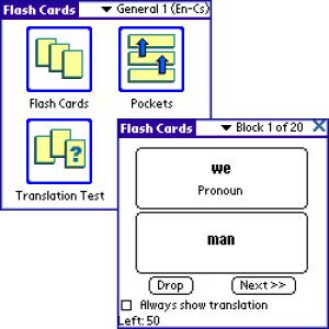 ECTACO FlashCards English - Swedish