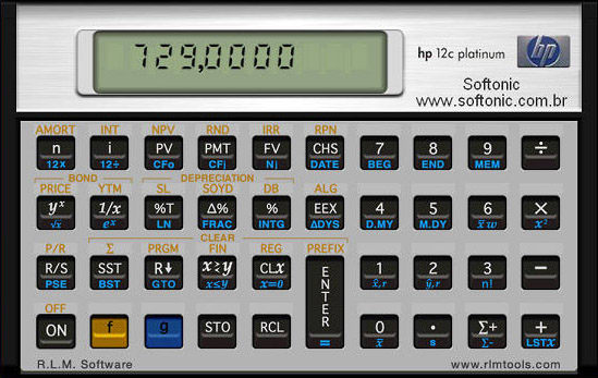 hp-12c Platinum Business & Financial Calculator