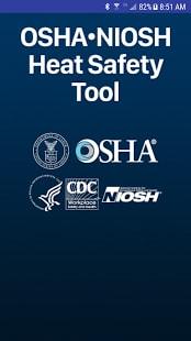 OSHA NIOSH Heat Safety Tool