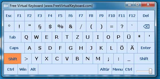 Free Virtual Keyboard