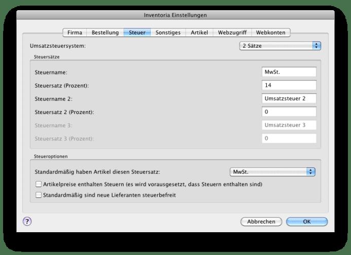 Inventoria Mac Inventory Software