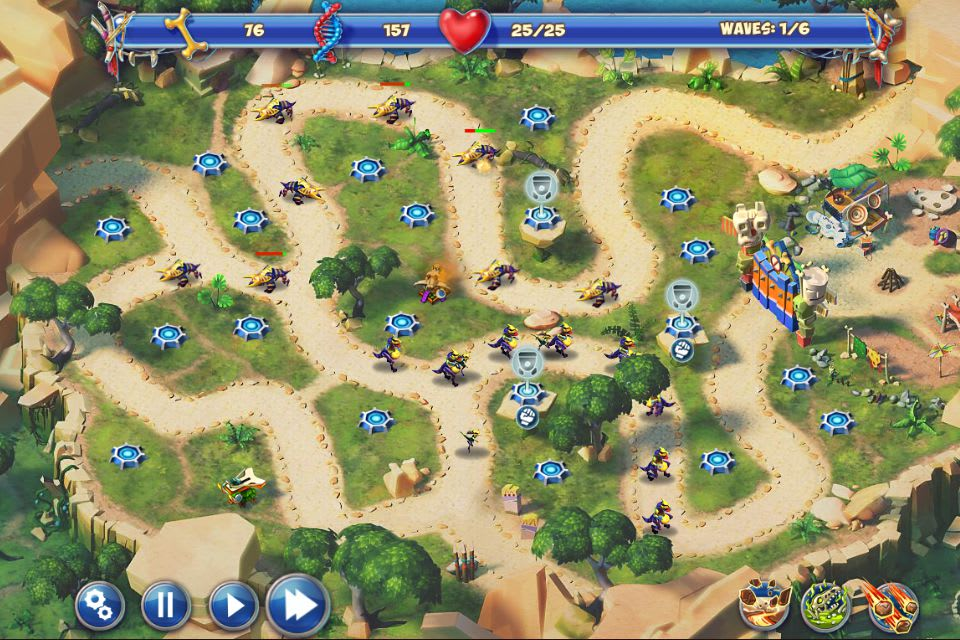 Day D Tower Rush HTML5