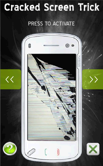 Cracked Screen Trick