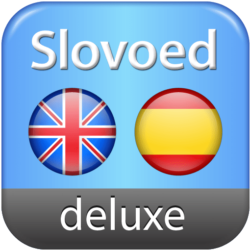 English-Spanish-English Slovoed Deluxe talking dictionary 7.6