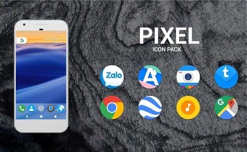 Pixel Icon Pack - Nougat UI