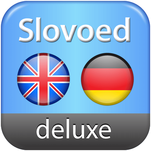 English-German-English Slovoed Deluxe talking dictionary