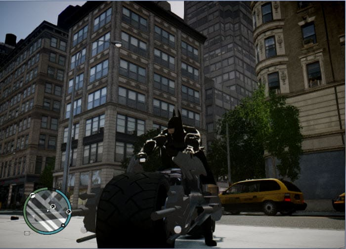 GTA IV Batpod Mod