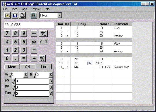 ActiCalc