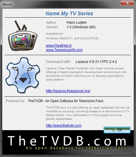 Name My TV Series