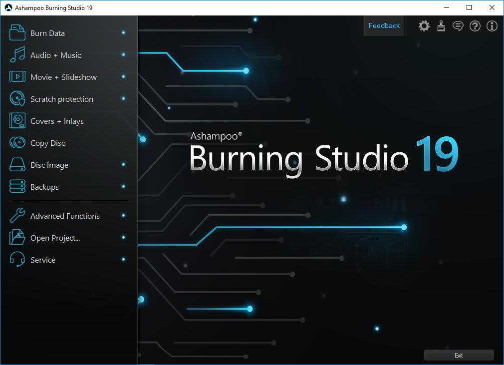 Ashampoo Burning Studio FREE 19