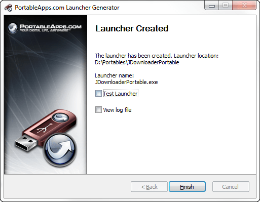 PortableApps Launcher