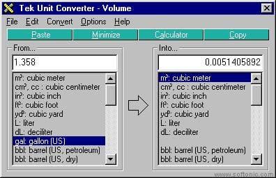 Tek Unit Converter
