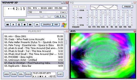 Winamp XP