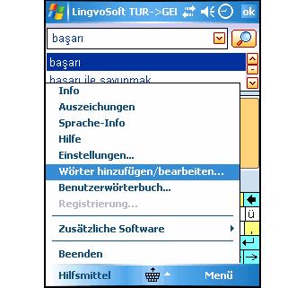 LingvoSoft Dictionary 2008 Deutsch-Türkisch