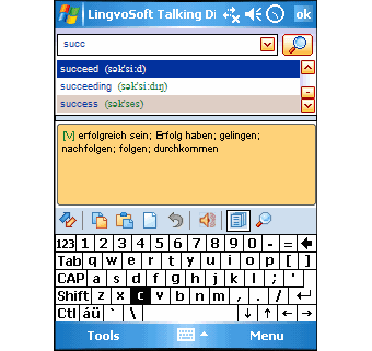 LingvoSoft Dictionary English-German 2008