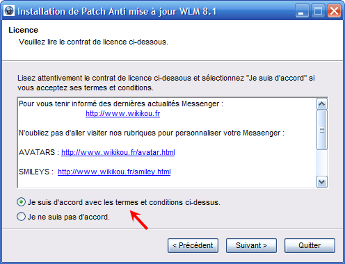 Anti-actualización para Windows Live Messenger 8.1