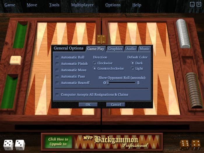 MVP Backgammon