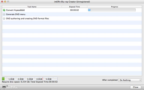 ImElfin Blu-ray Creator for Mac