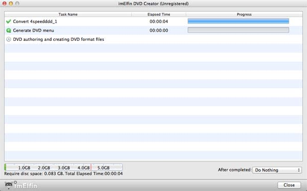 ImElfin DVD Creator for Mac