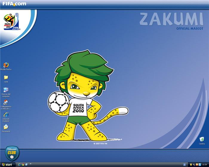 Zakumi 2 Wallpaper