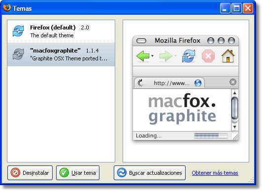 macFox Graphite