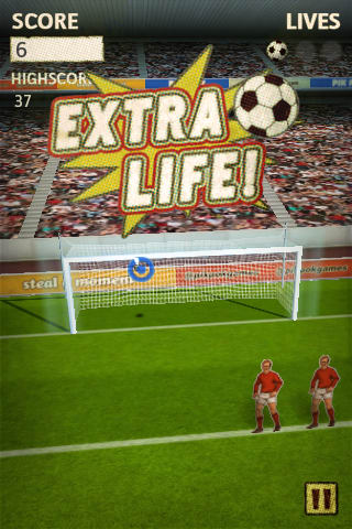 Flick Kick Football Kickoff