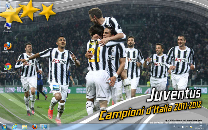 Juventus Campione d'Italia 2011/2012 Wallpaper