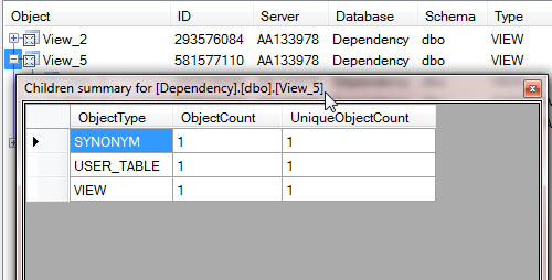 Advanced SQL Server Dependencies