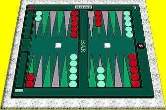 David's Backgammon Game