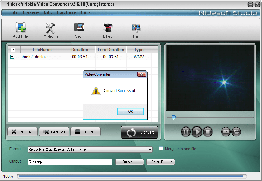 Nidesoft Nokia Video Converter 2.6