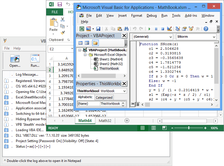 VBA Password Bypasser