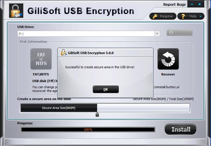 Gili USB Stick Encryption
