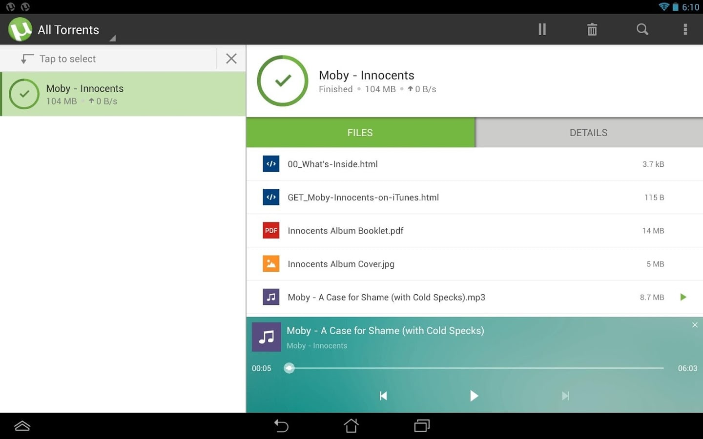uTorrent for Android - Download